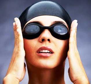 Gafas de natación graduadas