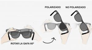 prueba con gafas si son polarizadas