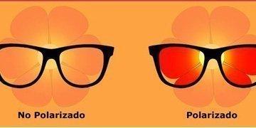 gafas polarizadas vs no polarizadas
