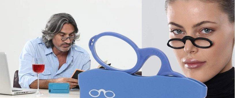 mini gafas tipo quevedo