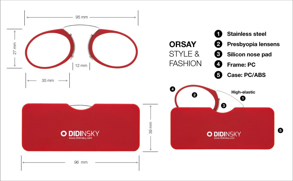 ficha técnica de las gafas Didinshy Orsay
