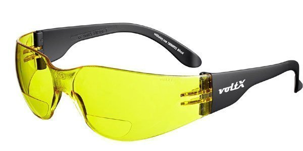 gafas bifocales amarillas