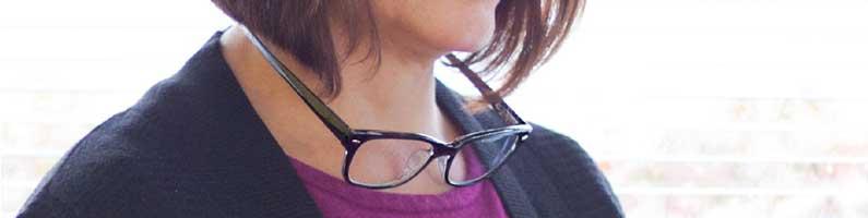 gafas para colgar en el cuello