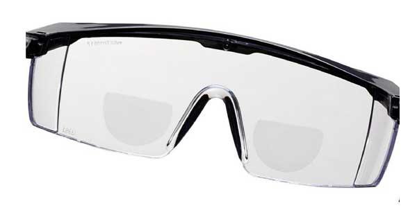 gafa de seguridad graduada con bifocal