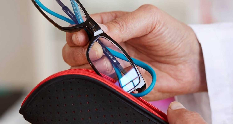 gafas con varilla elastica