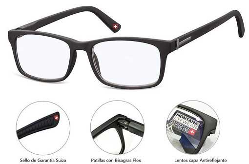 gafas para ser utilizadas cuando se utiliza el ordenador