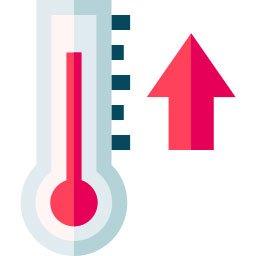 conocer la temperatura