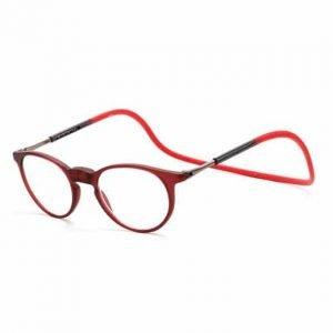 gafas con iman rojas