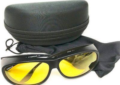 gafas especiales para contraste
