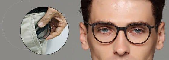gafas plegables de bolsillo